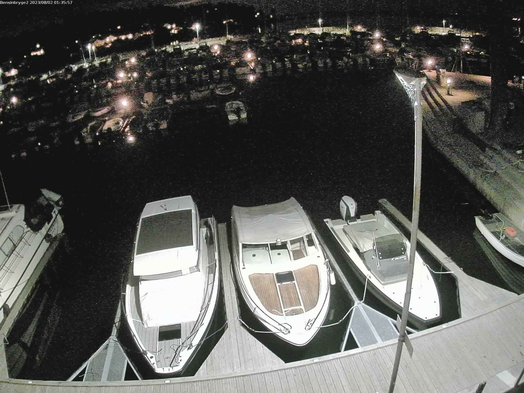 Rygge - Fuglevik jachthaven; tankstation